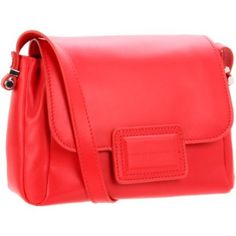 Marc by Marc Jacobs Bars And Bells M3121027 Cross Body,Scarlet,One Size