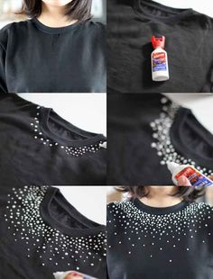 Diy Clothes Alterations Refashioning Old Sweater 33 Trendy Ideas Diy Clothing, Custom Clothes, Old Sweater, Sweaters, Diy Clothes Alterations, Diy Fashion, Fashion Dresses, T Shirt Painting, Denim Ideas
