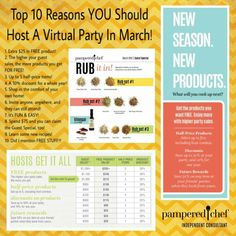 March Party! #freeparty #freeproducts  Tiny.cc/amandacooksforyou