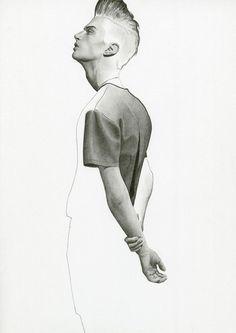 Männermode #Illustrationen #Illustration von  Richard Kilroy aus London