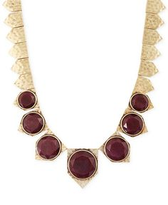Add some drama to your look with a glammed out collar necklace from Lucky Brand