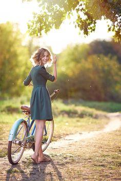 """Country Cycling...""                                            (Photo By: Alexander Vinogradov.)"