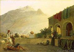 Carl+Wilhelm+Goetzloff+-+The+Sentry+on+Ischia,+1829