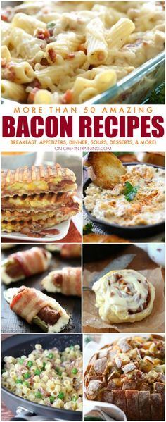 More Than 50 Amazing BACON Recipes!