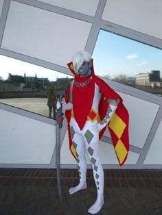 Ghirahim from Zelda: Skyward Sword cosplay