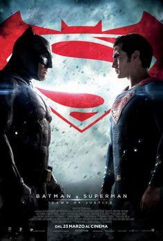 #BatmanvsSuperman, il film di Zack Snyder con Henry Cavill e Ben Affleck,dal 23 marzo al cinema.