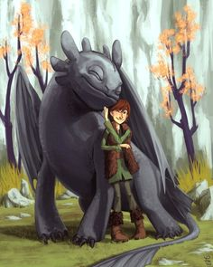 How to train your dragon fanart hiccup toothless Dreamworks Dragons, Dreamworks Animation, Disney And Dreamworks, Disney Pixar, Hiccup And Toothless, Hiccup And Astrid, Httyd, Fanart, Croque Mou