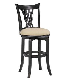 This Embassy Swivel Counter Stool is perfect! #zulilyfinds