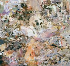 Skulldiver IV, 2006-07. Oil on linen, 216 x 226 cm. All images, courtesy Gagosian, New York/Los Angeles/London/Moscow/Rome. © Cecily Brown.