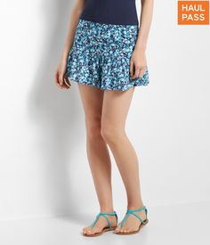 Aeropostale The Ditsy Floral Flirty Short Found on my new favorite app Dote Shopping #DoteApp #Shopping