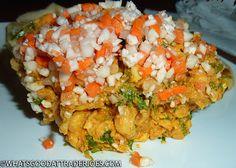 What's Good at Trader Joe's?: Trader Joe's Vegan Chickpea Masala Salad Trader Joes Vegan, Trader Joe's, Chickpea Masala, Whats Good, Grains, Veggies, Rice, Salad, Food