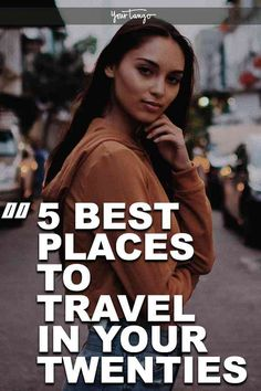 When you're in your twenties, it's a great time to get in some traveling. Here are five amazing #destinations you definitely don't want to miss out on #traveling to in your twenties. #travel #wanderlust