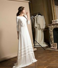 Delphine Manivet, price upon request | 52 Wedding Dresses That Aren't Strapless