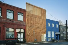 MoDA was approached in 2013 to reimagine an existing 10,000 sq. ft. two storey building in the historic Calgary neighborhood of Inglewood. Aside from the mai...