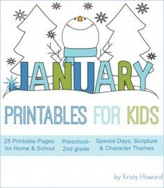 My Review of January Printables...you won't want to miss this amazing resource!!!