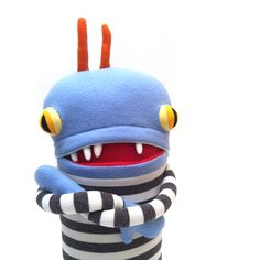 Guss Pajama Pocket Mouth Cotton Monster Plush by cottonmonster