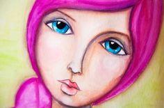 andreagomoll-mixedmedia-painting--girl-02 by natalie-w