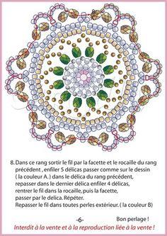 Pendentif Rosette - Bijoux de Carmilla
