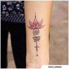 Boho Tattoos, Sweet Tattoos, Feminine Tattoos, Mini Tattoos, Small Tattoos, Unalome Tattoo, Mom Daughter Tattoos, Tattoos For Daughters, Tattoo Studio