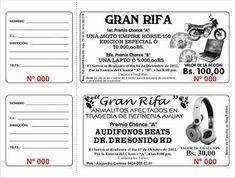 Talonarios De Rifa 1000 Numeros (Otros) a VEF 450 en PrecioLandia ...