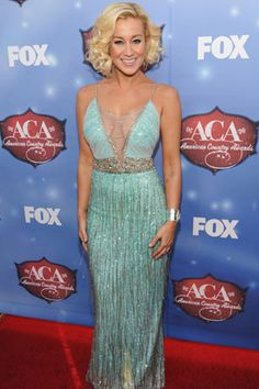 Kellie Pickler in Badgley Mischka Couture at the American Country Awards
