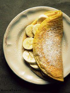 Bake&Taste: Omlet z bananem