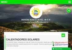 DGOZAC Solar S. de R.L. de C.V. Calentadores Solares