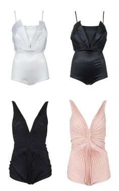 Marilyn-Style Bathing Suits.