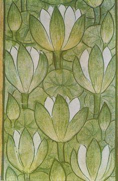 birdcagewalk:    valscrapbook:birdonwing:LotusesPainting on paper