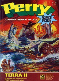 Comic Perry - Unser Mann im All Heft Nr.65