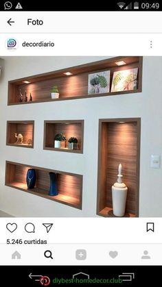 Diy Best Home Decor Diy Best Home Decor – Home Decor İdeas Modern Home Room Design, Home Interior Design, Living Room Designs, Interior Decorating, House Design, Niche Design, Tv Wall Design, Ceiling Design, Home Living Room