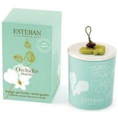 Esteban Bougie parfumée Orchidée blanche 29.00 € livré gratuitement dans le relais colis de votre choix !