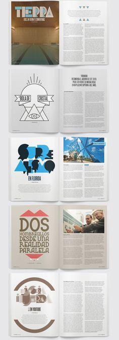 Yorokobu Magazine by creattica (via Creattica)