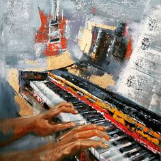 Adriaan Lotter Art, oil on canvas France Drawing, Piano Art, South African Art, Abstract Animals, Oil On Canvas, Pop Art, Street Art, Mosaic, Art Pieces