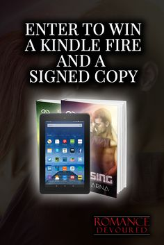 Win a Kindle Fire HD & Signed Copies from Bestselling Author Lucy Varna