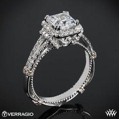 Tacori Classic Crescent Celestial Diamond Engagement Ring