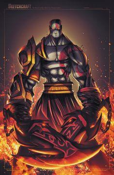 God of War - Kratos by RobDuenas.deviantart.com on @DeviantArt