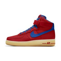 new product 66ac7 8bf2e Nike Air Force 1 High iD Men s Shoe Superman Color Scheme. John mathis ·  Shoes