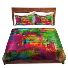 Duvet Cover and Shams SET by Julia Di Sano - Washed Rainbow - 11 Main