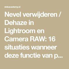 Nevel verwijderen / Dehaze in Lightroom en Camera RAW: 16 situaties wanneer deze functie van pas komt • Vink Academy