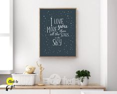 Nursery decor printables for baby boys and little boys from Sunny and Pretty. Modern and cute outer space décor art for kid's room, baby nursery, or playroom. Nursery art and nursery prints to complete your nursery decor project. Our nursery wall art is made with love and is designed to reflect your nursery wall décor style. 🖤 Get excited about decorating for your little one! #sunnyandpretty Sky Nursery, Outer Space Nursery, Space Themed Nursery, Baby Boy Nursery Decor, Nursery Artwork, Kids Room Wall Art, Baby Boy Rooms, Baby Boy Nurseries, Nursery Prints