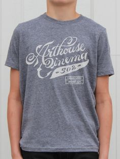 Arthouse Cinema 502 Shirt Designs by Jill De Haan, via Behance