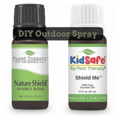 Enjoy the great outdoors with this natural, effective barrier, shielding you from nature's outdoor annoyances. These synergies can also help keep your patio or outdoor picnic area free and cl… Essential Oil Bug Spray, Essential Oils For Kids, Essential Oil Blends, Natural Oils, Natural Health, Going Natural, Natural Skin, Bug Spray Recipe, Plant Therapy Essential Oils