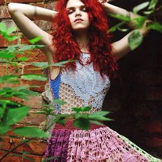 13 Magical #Crochet #Fashion Photos from RuchkiKruchki