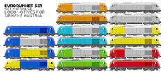 Railways and Design: C R E A R A II L . C O M S Bahn, Locomotive, Industrial Design, Trains, Transportation, Europe, Modern, Trendy Tree, Instructional Design