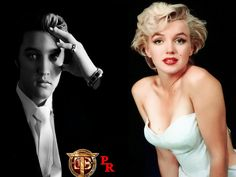 ELVIS AND MARYLIN