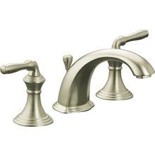 View the Kohler K-394-4 Devonshire Widespread Bathroom Faucet with Ultra-Glide Valve Technology - Includes Metal Pop-Up Drain Assembly at FaucetDirect.com.