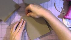 Mini Ablum 101- Part 1 Album pages- Fantastic tutorial to follow when making your first mini.