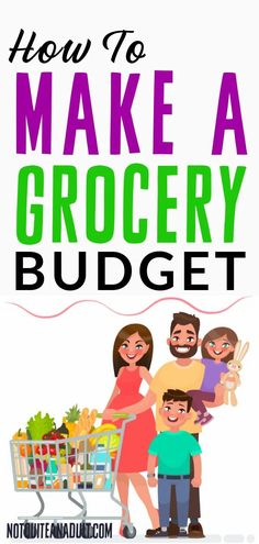 How to Make a Grocery Budget - Not Quite an Adult Budget Binder, Create A Budget, Recipe Organization, In Season Produce, Get Out Of Debt, Credit Score, Make More Money, Money Saving Tips, Personal Finance