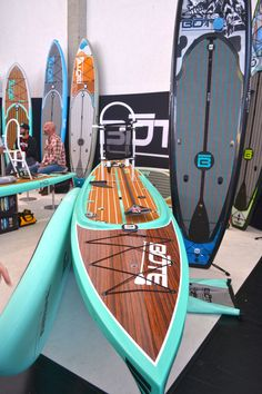 Paddle Expo 2013: Beautiful boards from Bote Boards